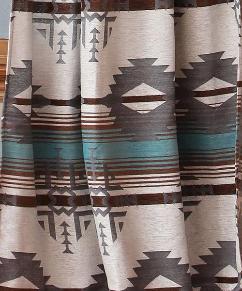 Rustic Dakota Shower Curtain