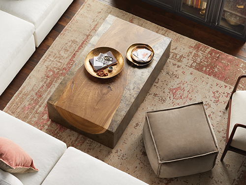 Rustic Coffee + Accent Tables