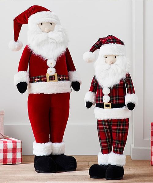 Kids Plush Santa