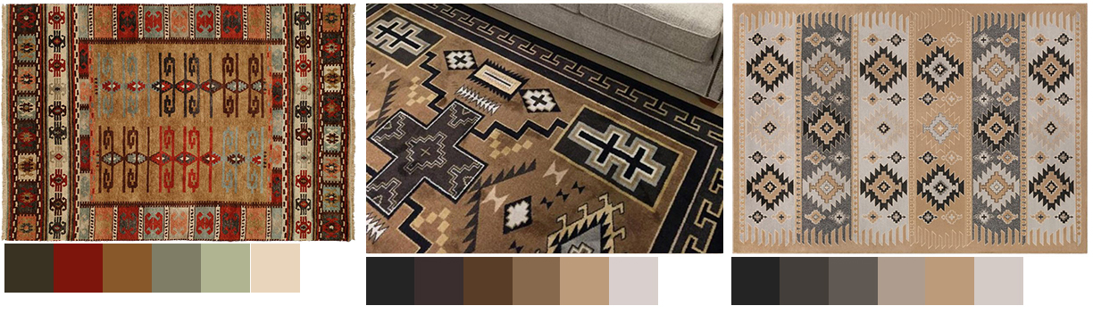Rustic Area Rugs Choosing the Right Color