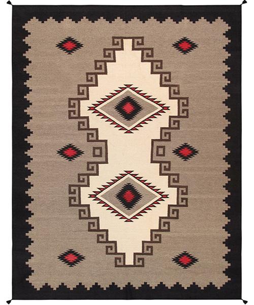Pasargad Kilim Hand-Woven Area Rug