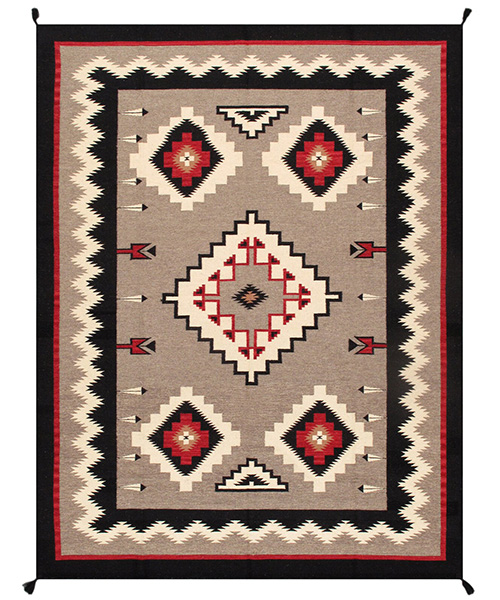 Pasargad Southwestern Hand Woven Rug