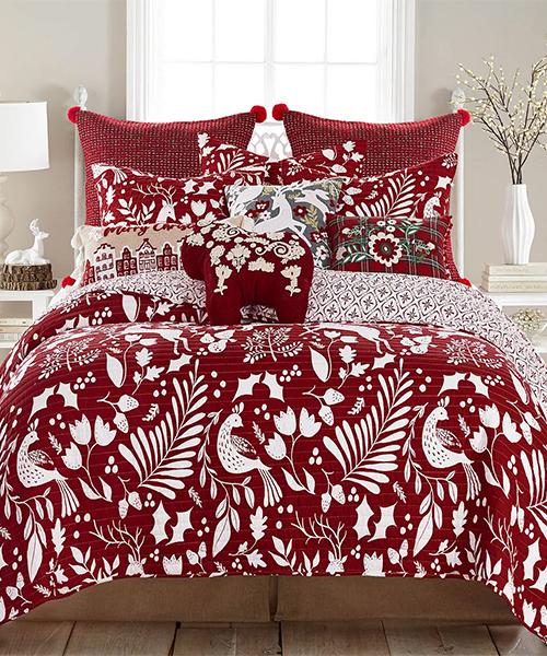Scandinavian Holiday Bedding