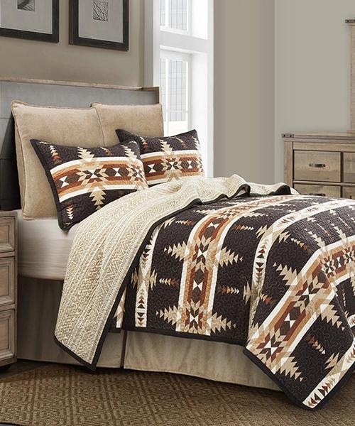 Aztec Inspired Bedding