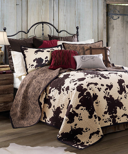 Cowprint Bedding Set